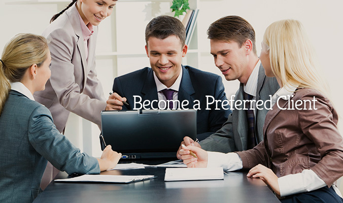 Become a Preferred Client