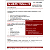 Capability Statements Archives  Targetgov Targetgov. Piano Music Staff Paper Template. Lease Contract Template. New Graduate Resume Samples Template. Personal Development Plan Template Word Template. Paris Proposal Spots. Resume Template Latex. Objective On A Resume. Regional Property Manager Resume Template