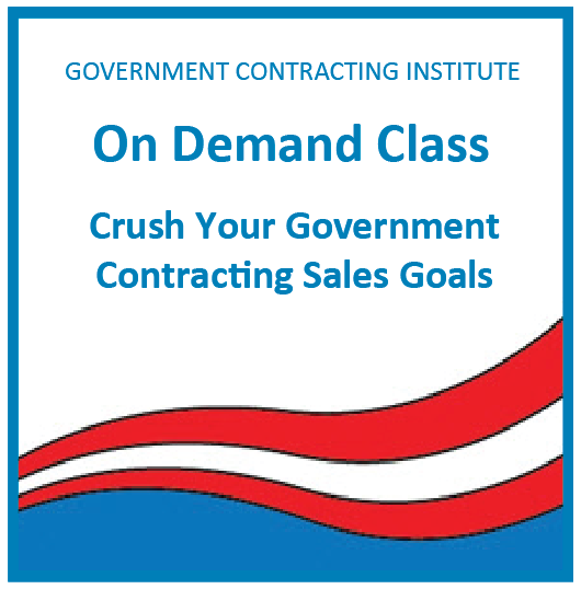 government contracts training demand online budget