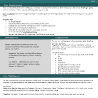 Capability statement editable template teal targetgov targetgov capability statement editable template teal pronofoot35fo Images